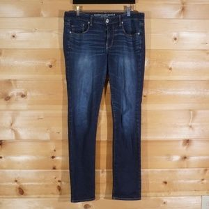 Faded Wash Skinny American Eagle Jeans Size 14